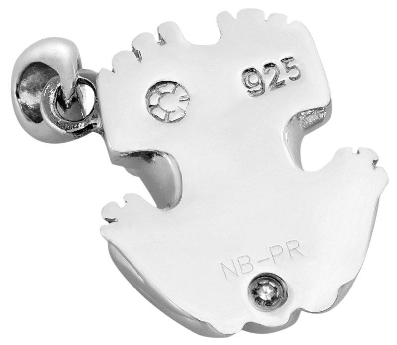 Petite Coquí Pendant Solid Sterling Silver .925